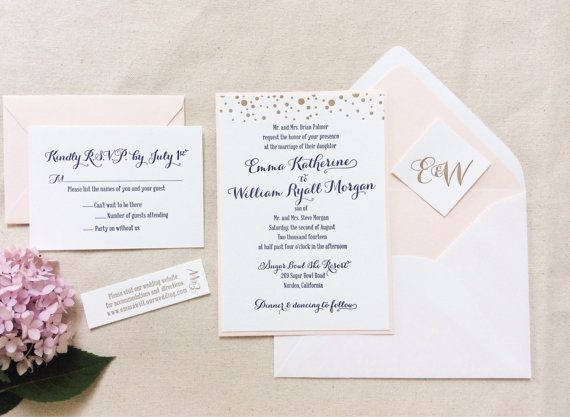 Simple Wedding Save Date Cards