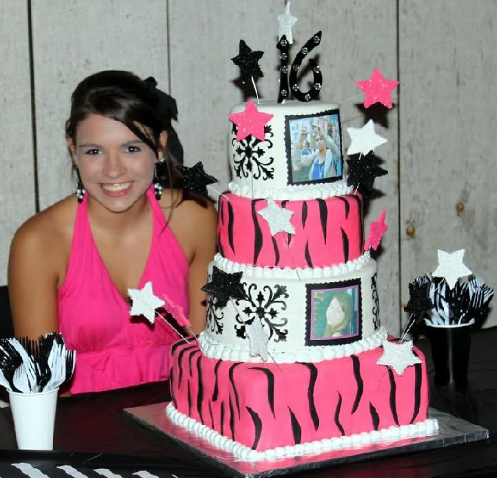 80 Best Images About Birthday Cakes On Pinterest Pink