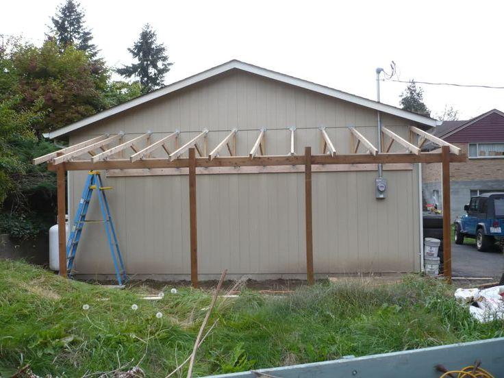 Lean To Carport Build The Garage Journal Board Porch