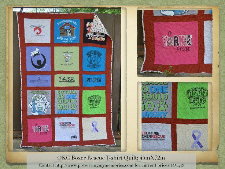 T Shirt Quilt Okc