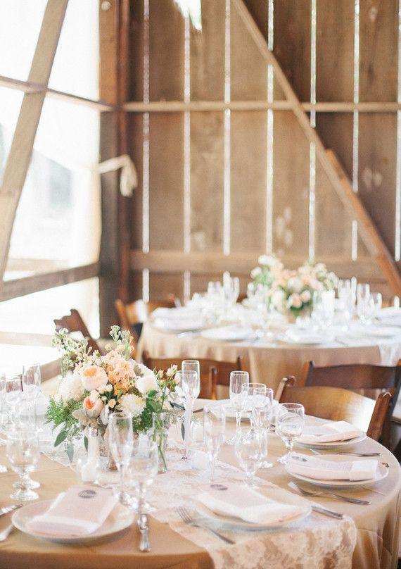 Simple Wedding Reception Centerpieces