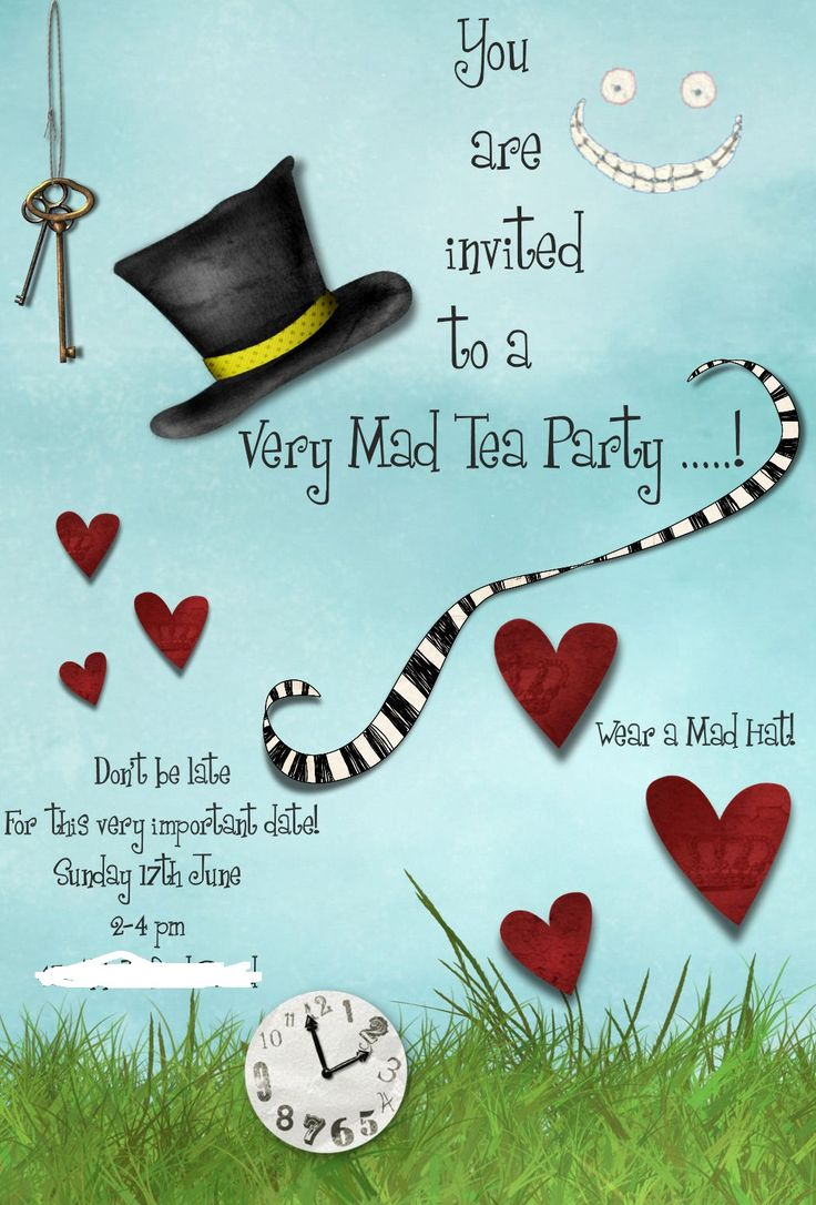 Hat Bridal Shower Invitations