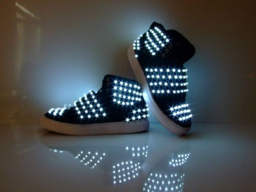 Kids Neon Light Shoes