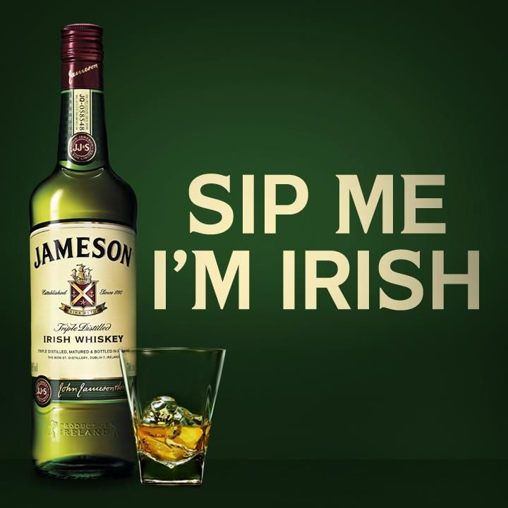 Cartoon Irish Jamesons