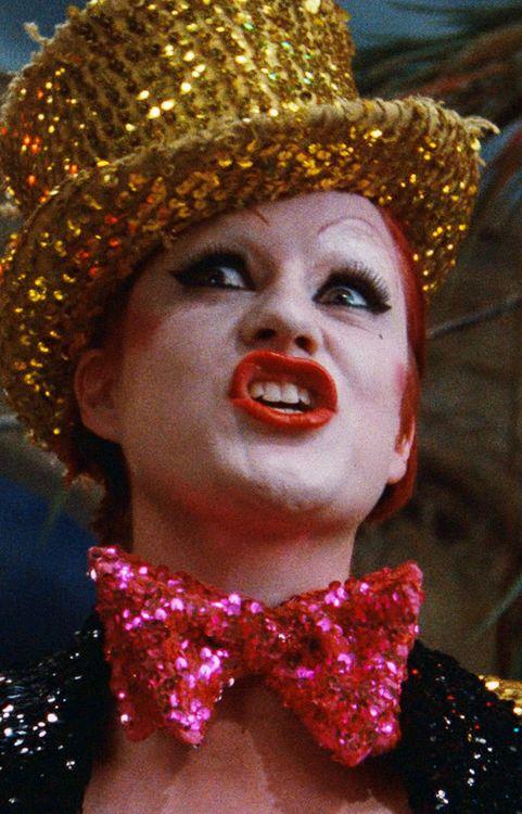 Magenta Makeup Rocky Horror
