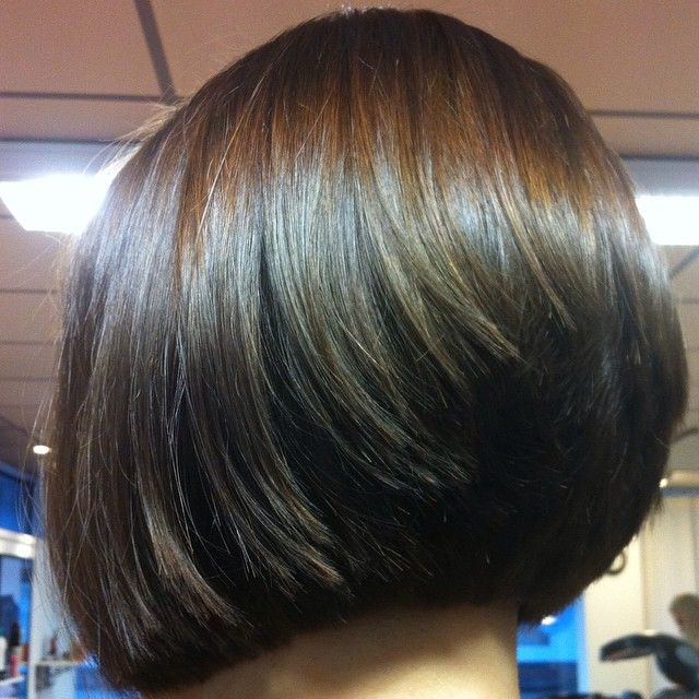 View Haircut Stacked Back Bob