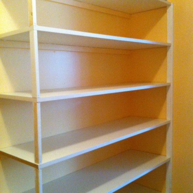 Shelves Closet Melamine Building