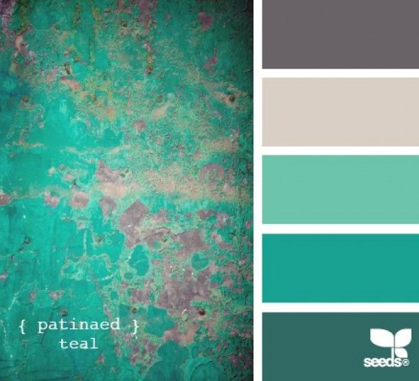 Colors Go Teal