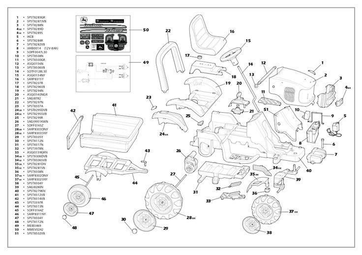 Diagram Deere B John Parts