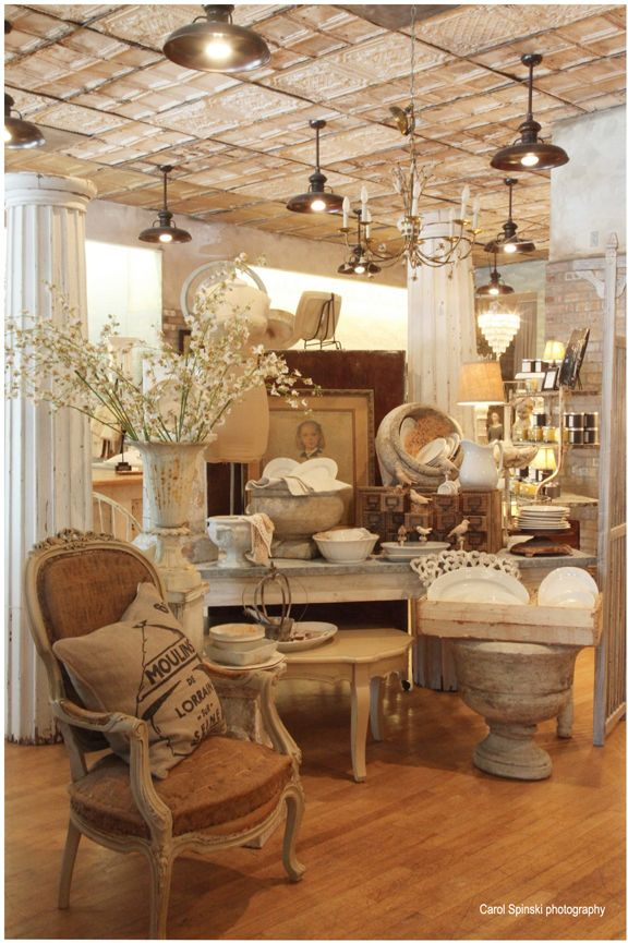 Shabby Chic Display Ideas Boutique Stores