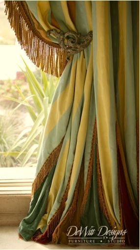 Yellow And Grey Window Treatments