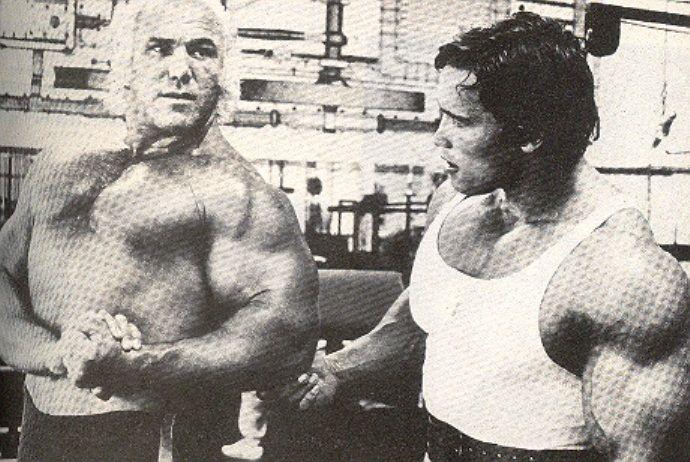 Superstar Billy Graham Amp Arnold Schwarzenegger Wrestling