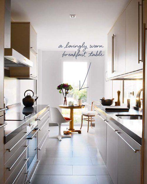 Very Narrow Kitchen Ideas