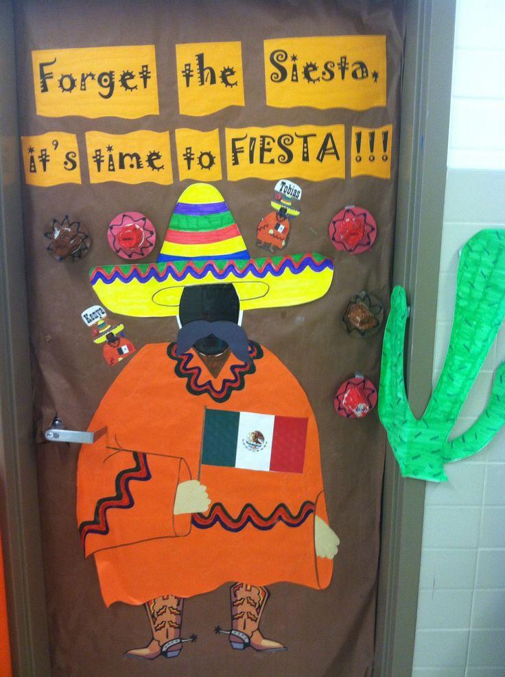Forget The Siesta It S Time To Fiesta Classroom Door