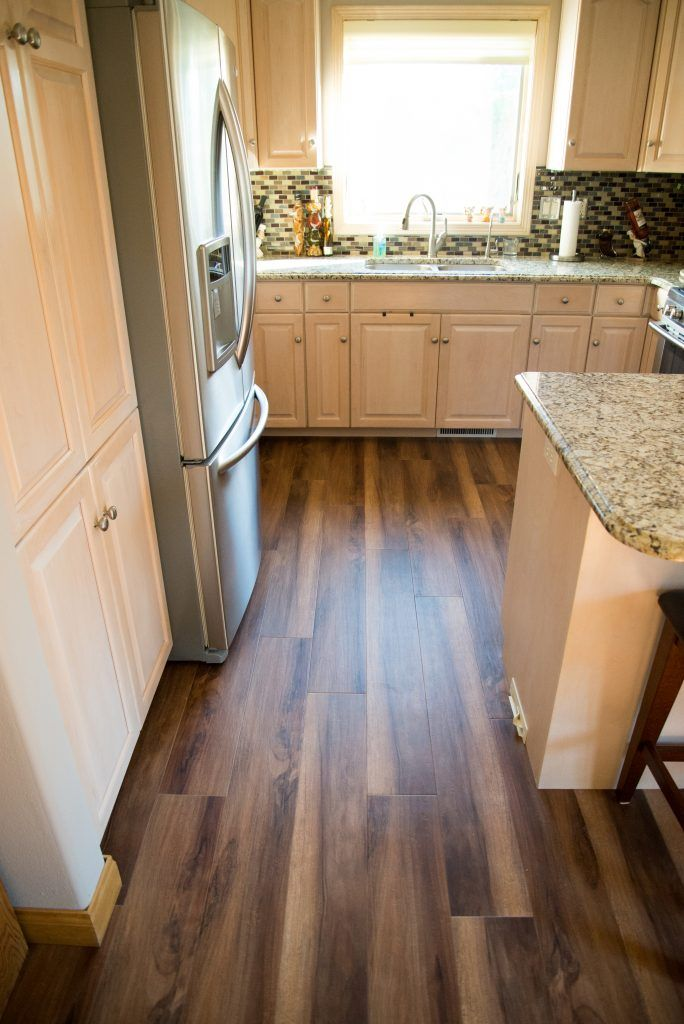 Luxury Vinyl Plank Kitchen