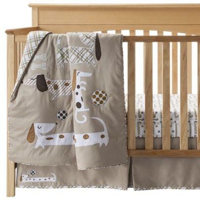 Dachshund Nursery Bedding Set Nana S Sweetheart