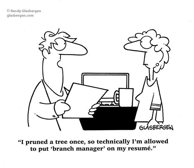 human resources interview jokes cartoons