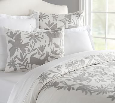 Beautiful Otomi Embroidered Duvet Cover Too Bad Pottery
