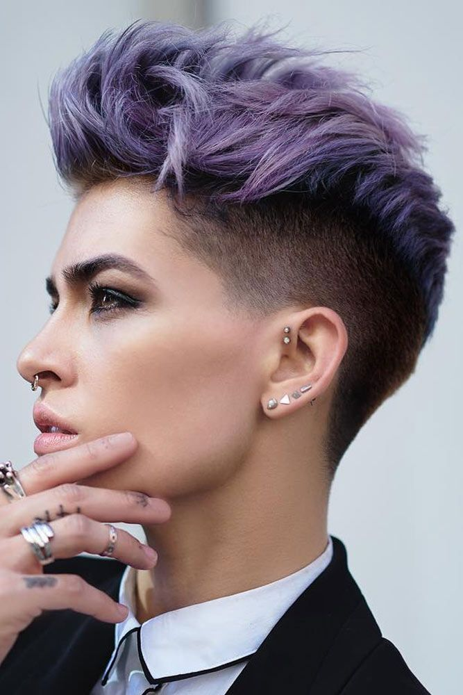 Womens Short Undercut Hairstyles Page 1