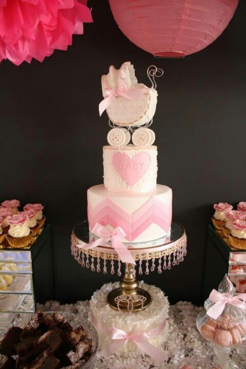 Ideas Para Baby Shower Nina