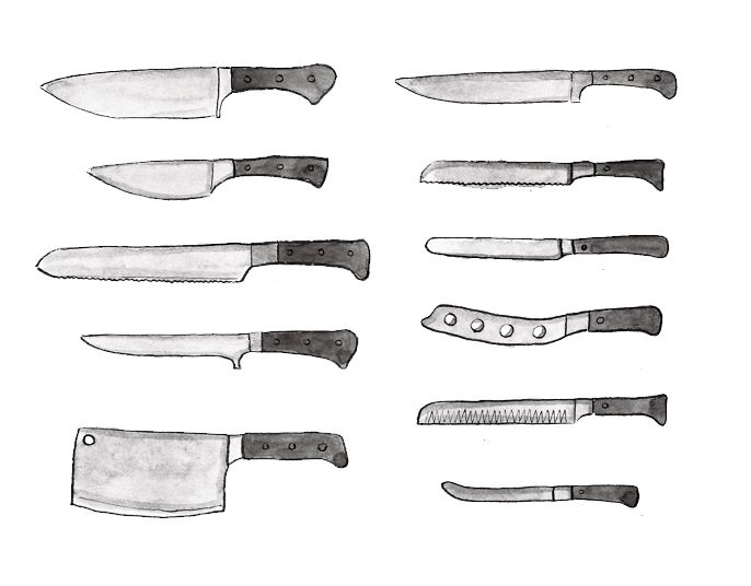 Use Do What Knives Chefs Kind