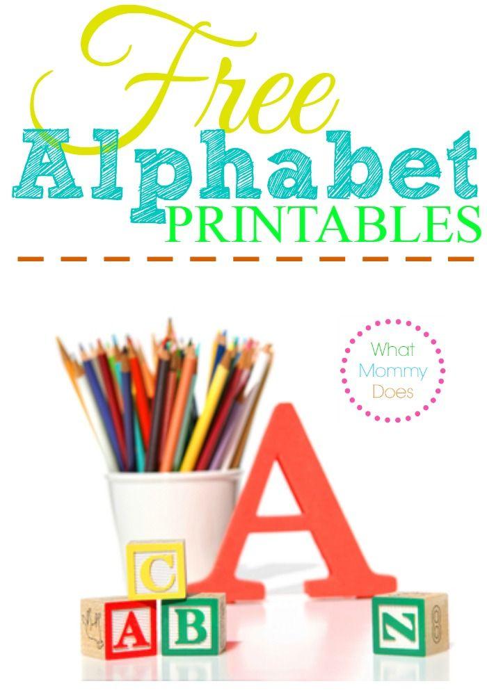 4 Letter Stencils Printable