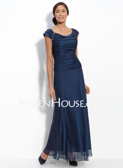 Patra Draped Evening Dress