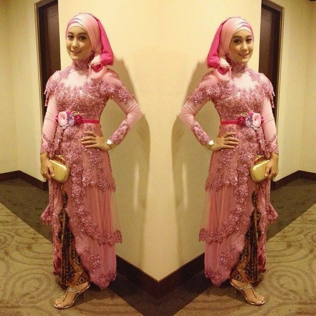 Best Images About Gamis Pesta On Pinterest Wedding Hijab Fashion And Kebaya Hijab