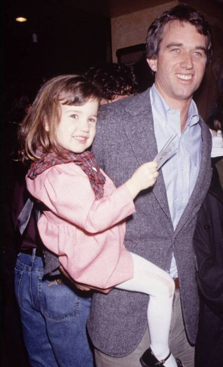 Bobby Kennedy Jr. with his daughter, Kick | Robert Kennedy ...