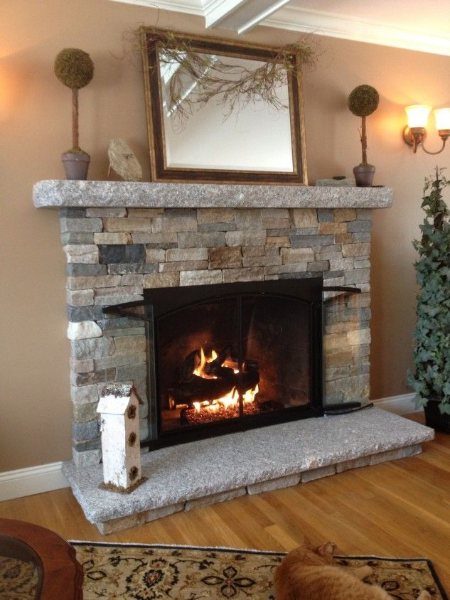 fake christmas fireplace brick