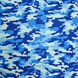 Fabric Store Camouflage Print Ml239690 Blue Camo