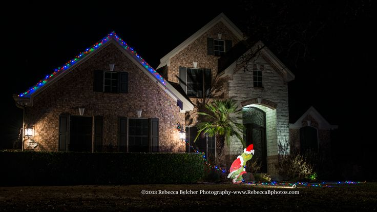 Christmas Lights Grinch