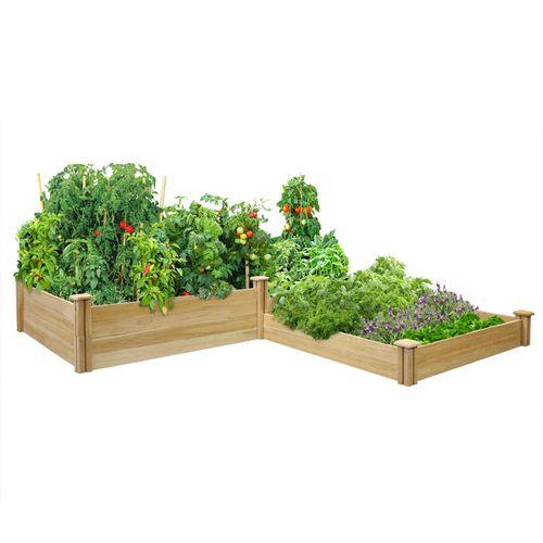 Greenes Cedar Raised Garden Kit