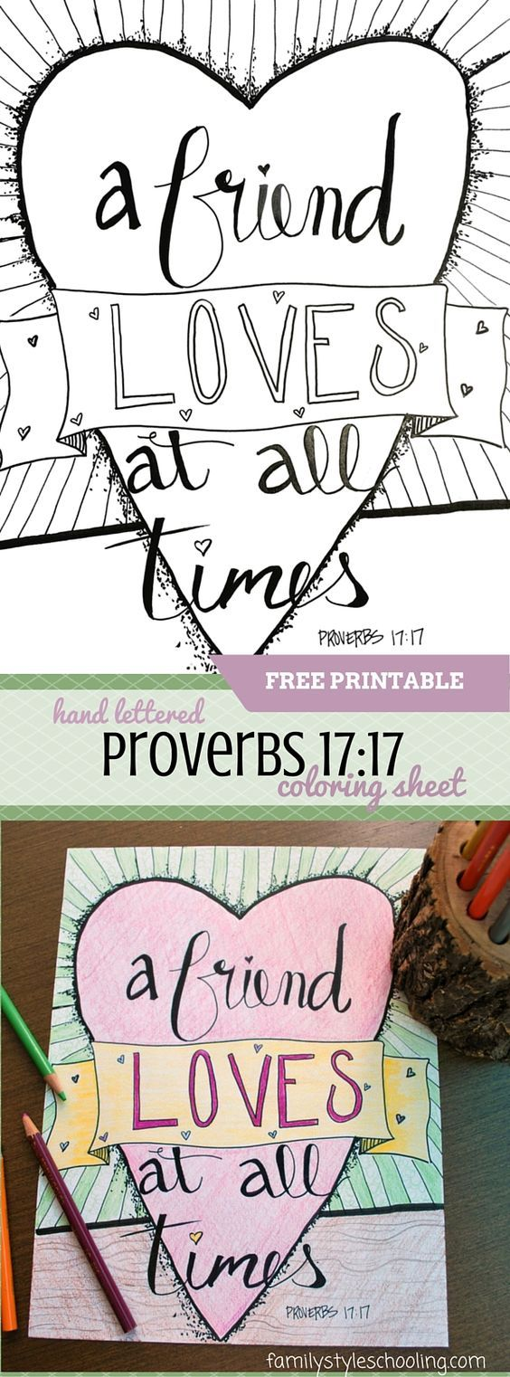 17 best images about job psalms poetry books, friend loves all times coloring page