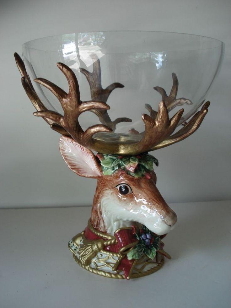 Figurines And Deer Floyd Fitz