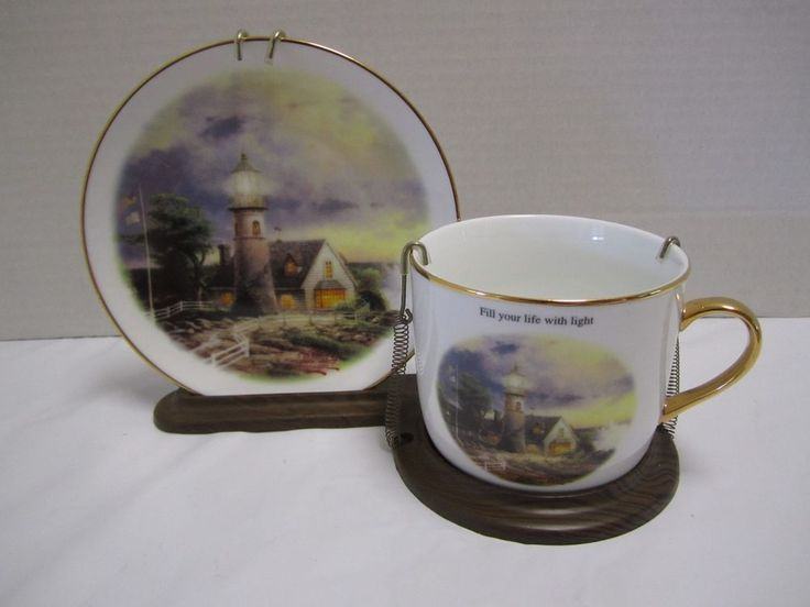 Thomas Kinkade Porcelain Lighthouses