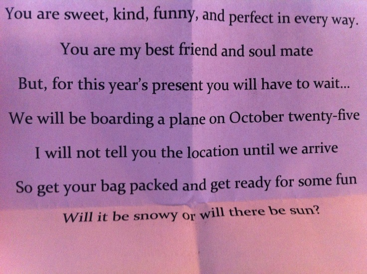 Holiday Party Letter Parents