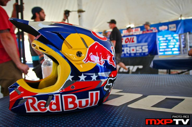 Red Bull Dirt Bike Gear
