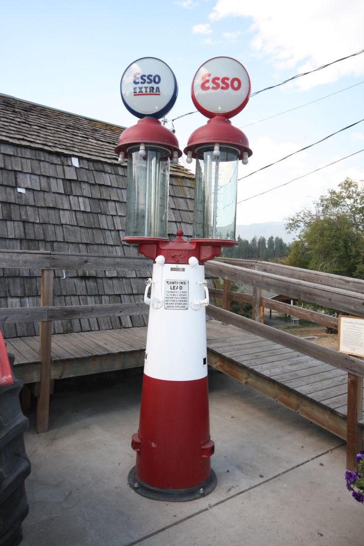 Gilbert Barker Antique Gas Pumps