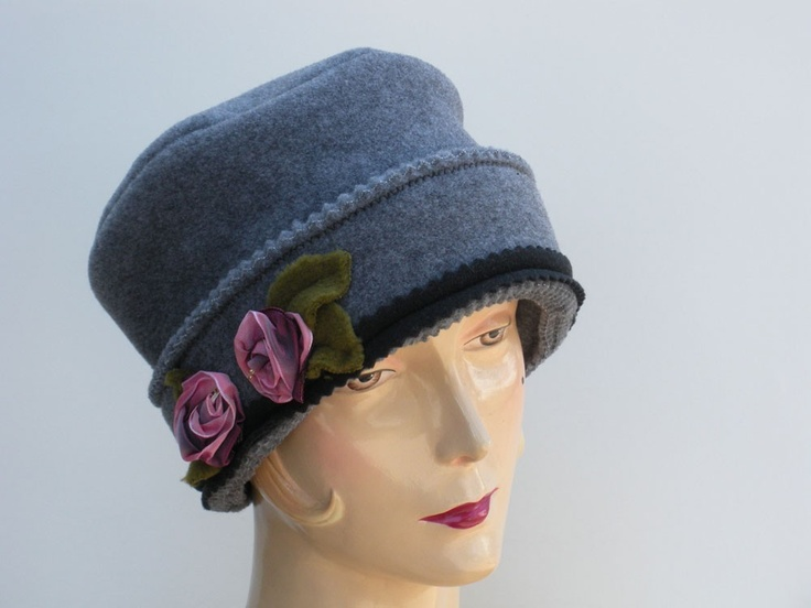 Hat Pattern Cloche Fleece