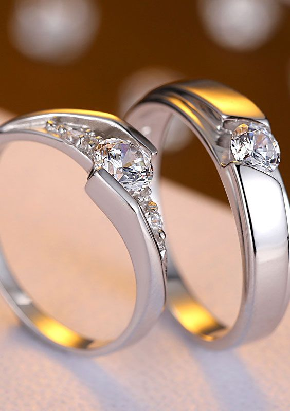 Cz Best Ring Wedding Sets