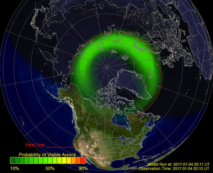 Northern Light Predictor