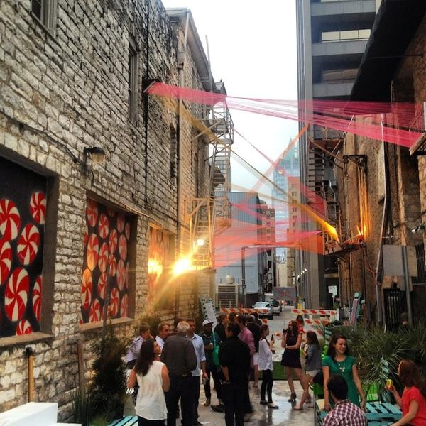 Alley Walls Provide Unconventional Backdrops For Public