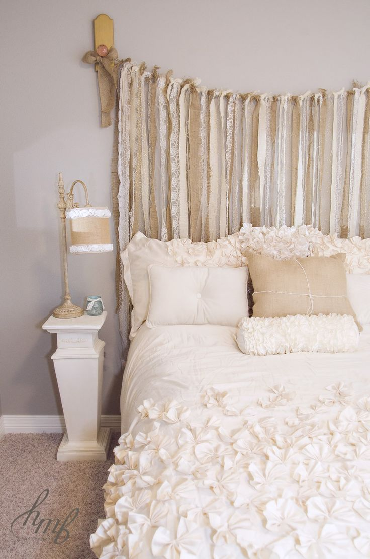 Chic Rustic Romantic Bedding