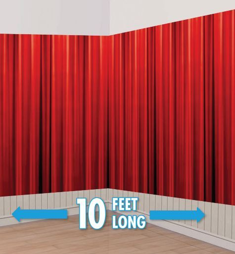 Party Curtains Decorations