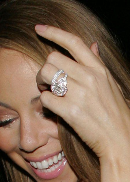 Mariah Carey S 2 5 Million Engagement Ring From Nick Cannon Cannon Worked With Jacob Amp Co To