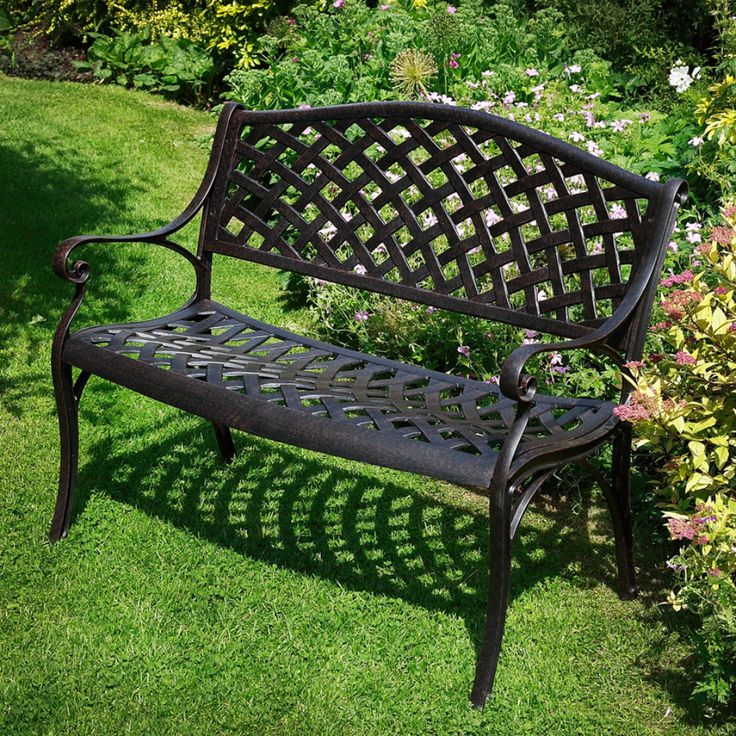 Metal Garden Bench Uk