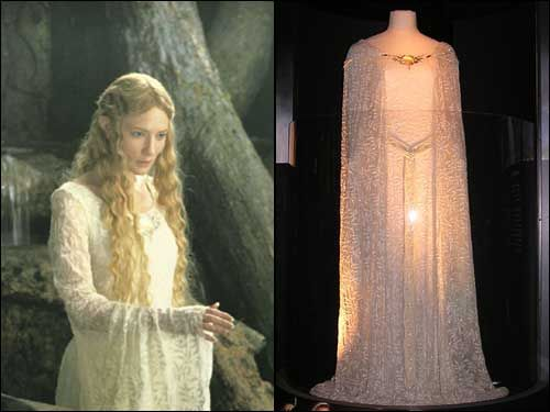 Lord Rings Elven Princess Dress