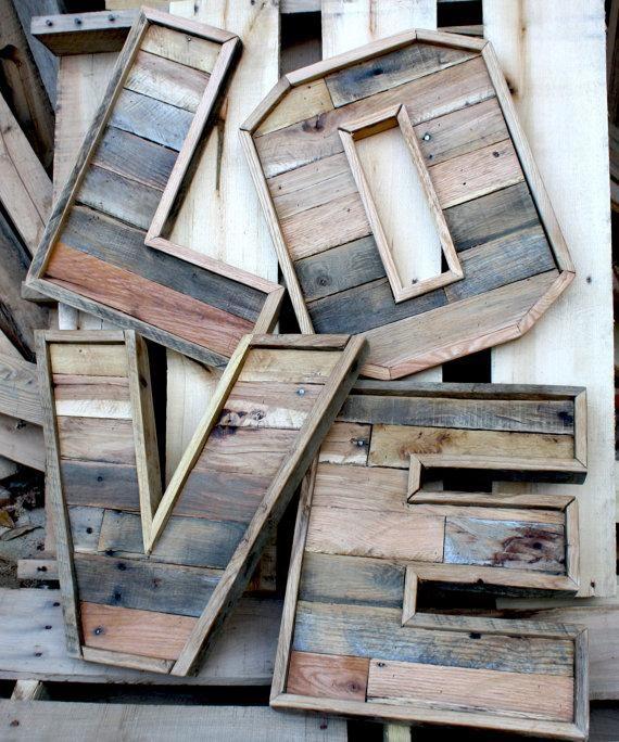Reclaimed Wood Project Ideas