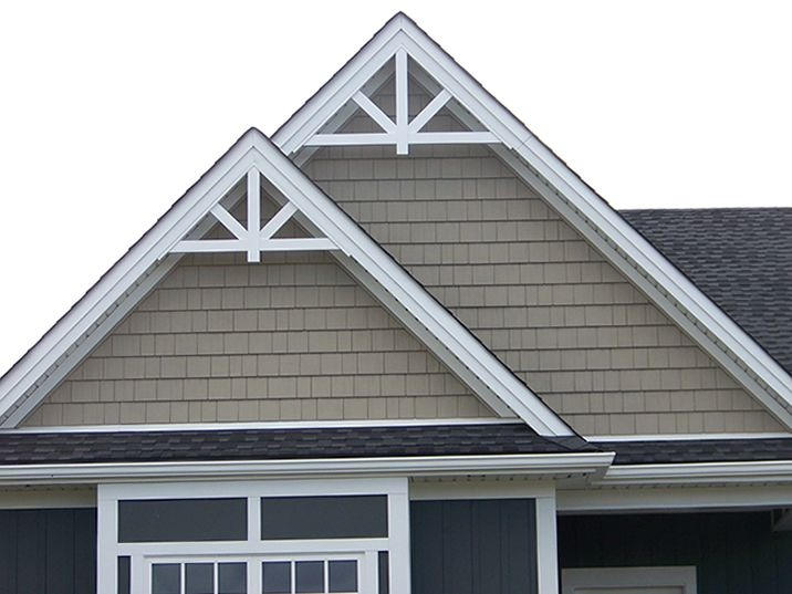 Fake Flat Roof Gable